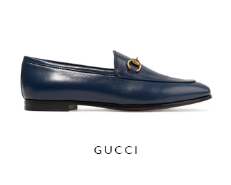 Gucci from Net-A-Porter Leather Loafers